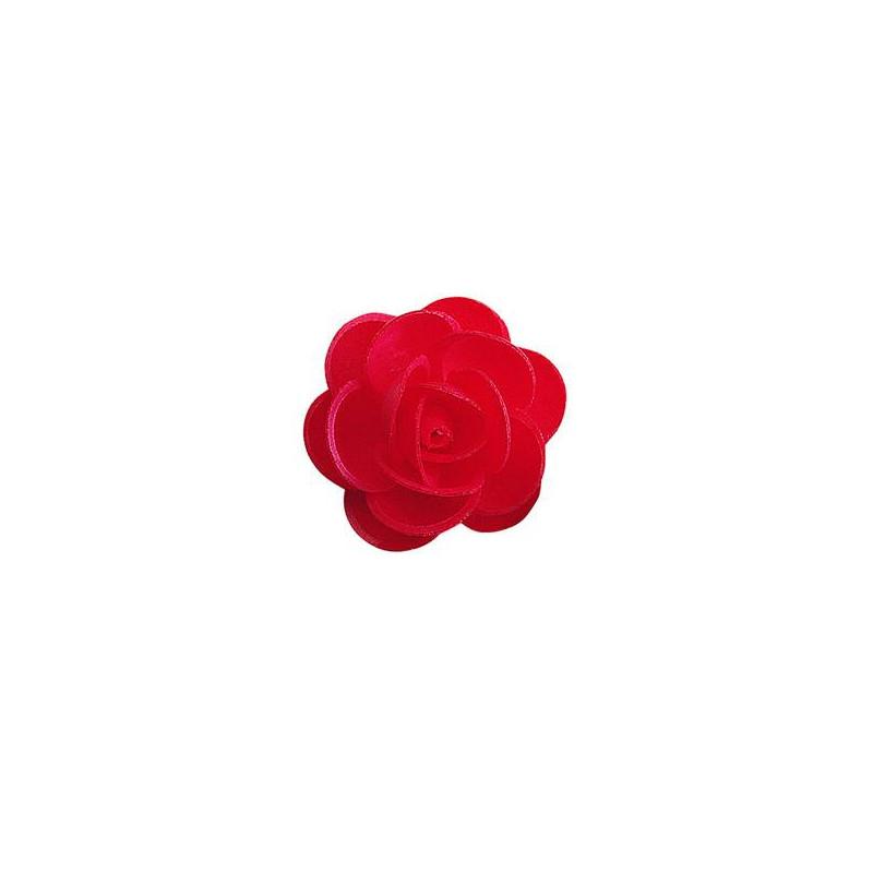 Rosas rojas sin levadura 4,5 cm - x 50