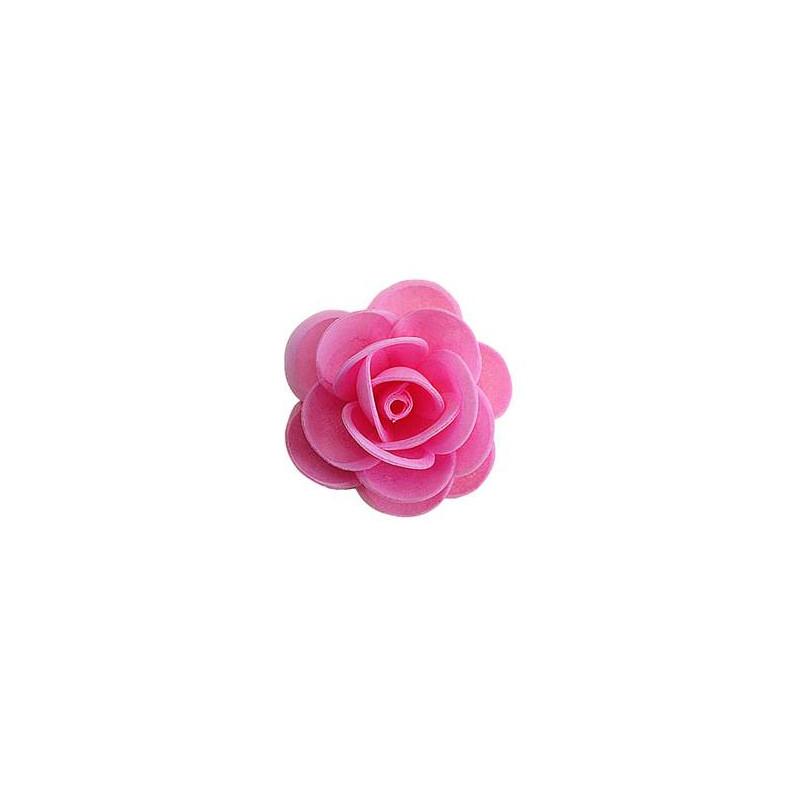 Roses roses en azyme 4,5 cm - x 50