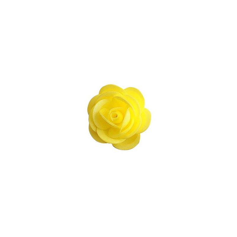 Roses jaunes en azyme 4,5 cm - x 50