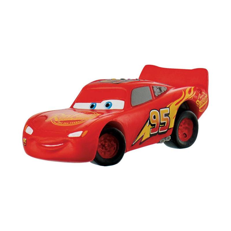 Figurine Cars pour gâteau Flash Mcqueen - 6cm