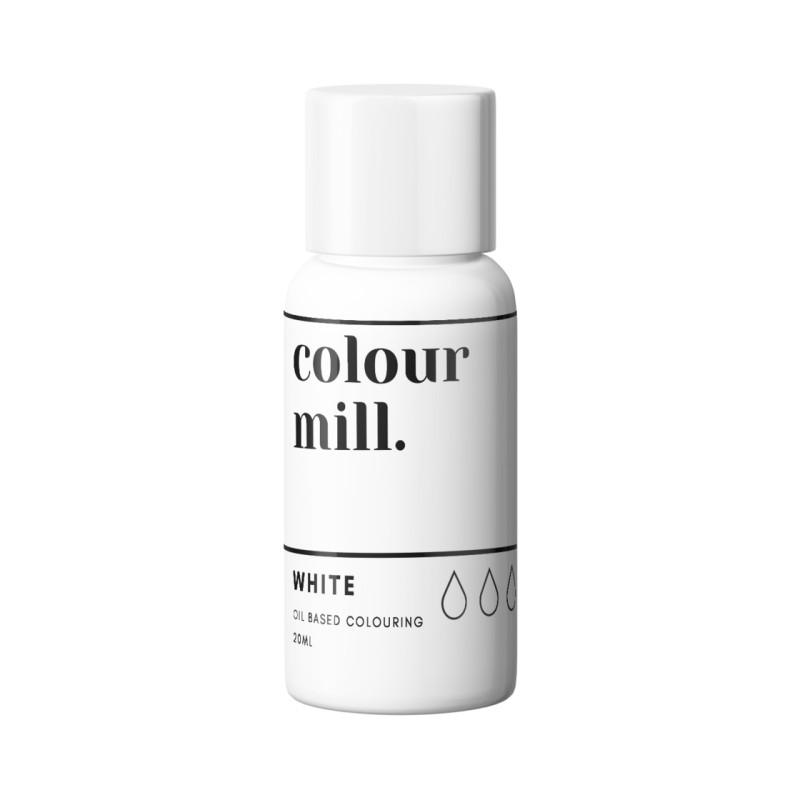 Color Mill blanco tinte liposoluble 20 ml