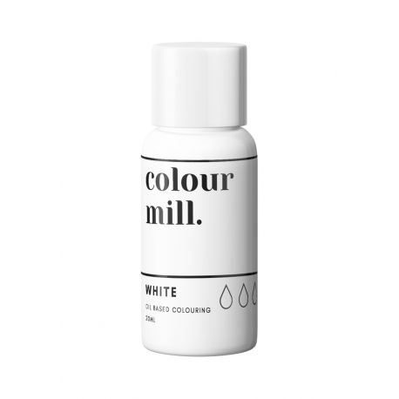 Colorant liposoluble blanc Colour Mill 20 ml
