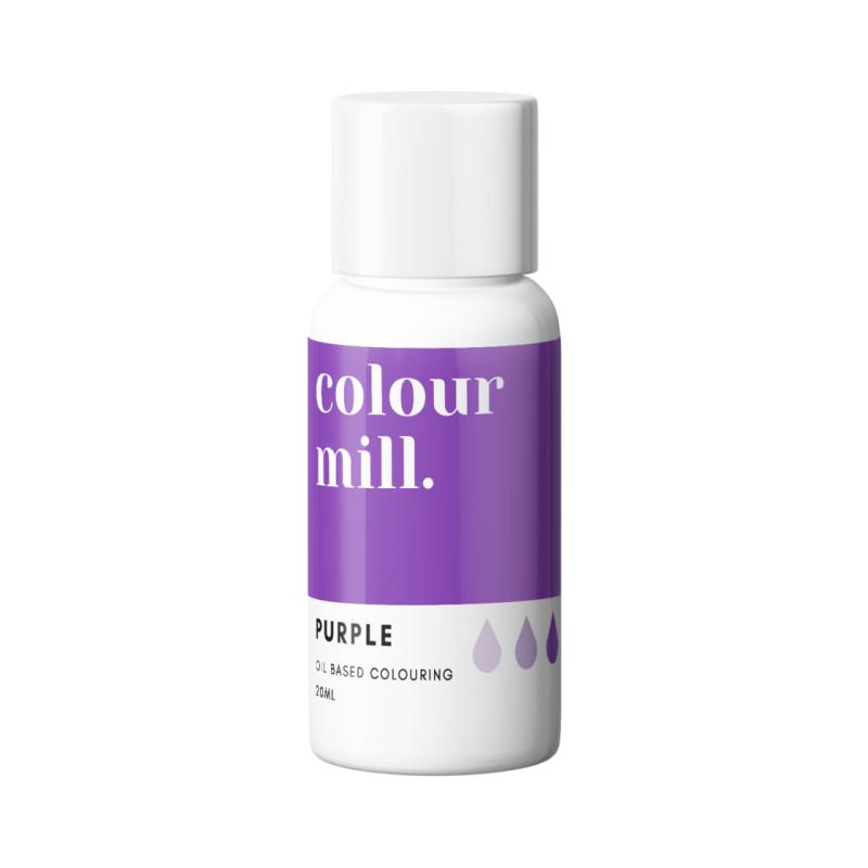 Color Mill tinte violeta liposoluble 20 ml