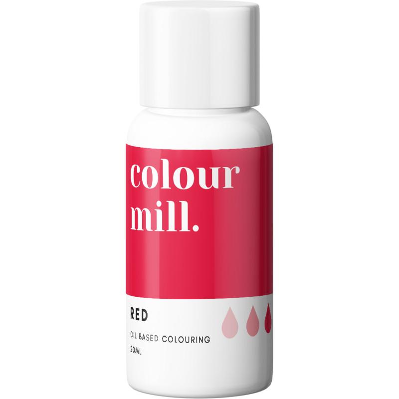 Color Mill tinte rojo liposoluble 20 ml