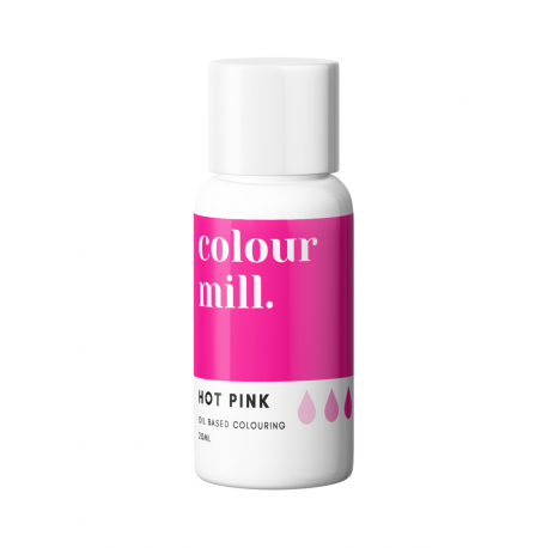 Colorant liposoluble rose foncé Colour Mill 20 ml