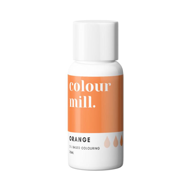 Colorant liposoluble orange Colour Mill 20 ml