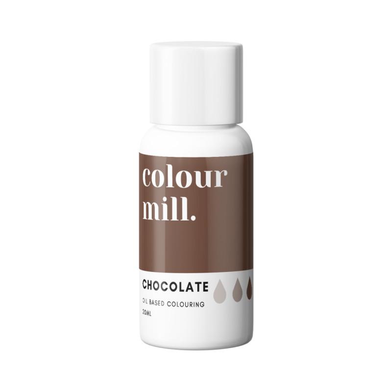 Colorant liposoluble chocolat Colour Mill 20 ml
