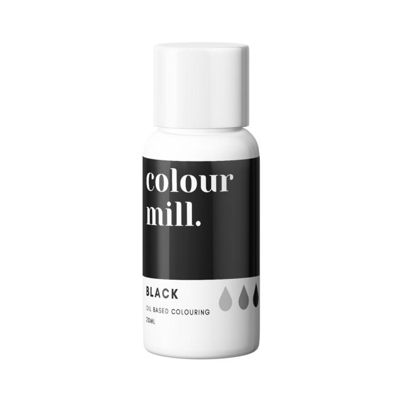 Color Mill tinte liposoluble negro 20 ml