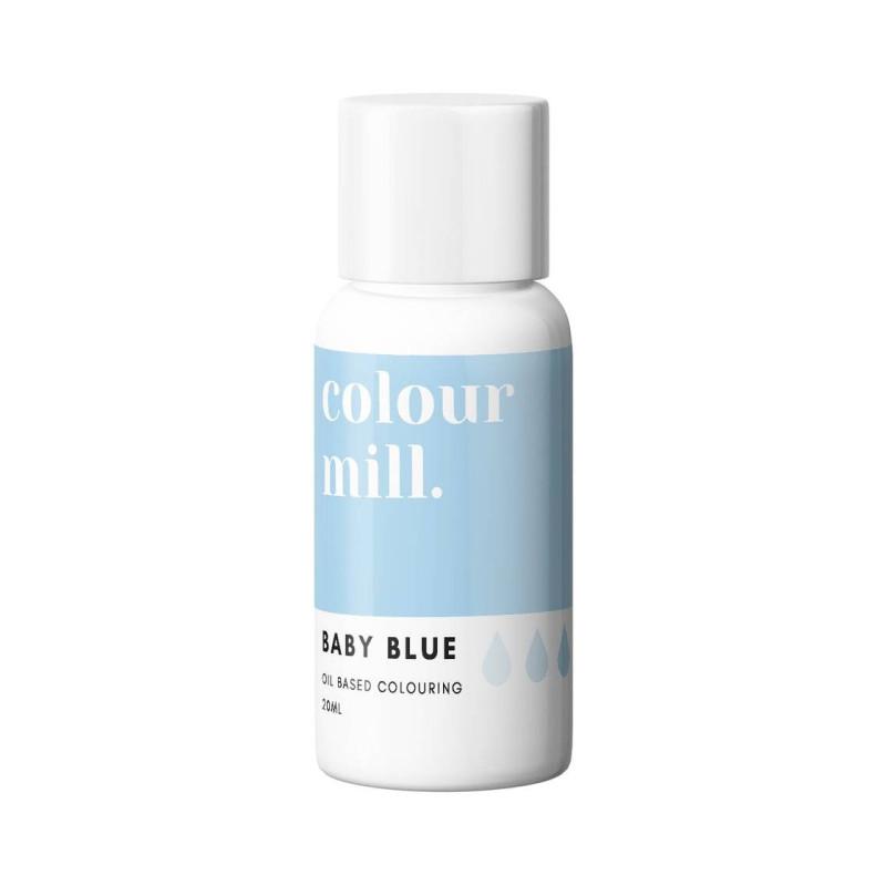 Colorant liposoluble bleu bébé Colour Mill 20 ml