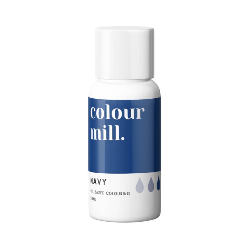 Color Mill tinte azul marino liposoluble 20 ml