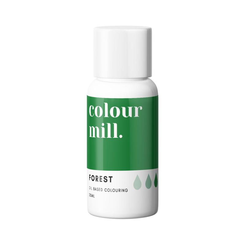 Tinte liposoluble verde bosque Color Mill 20 ml
