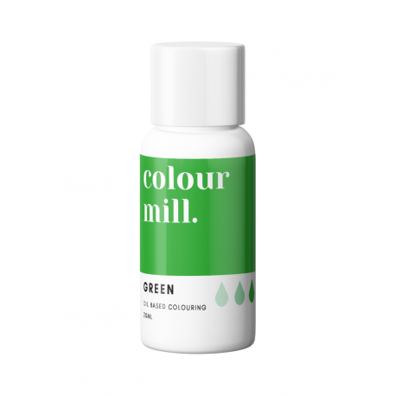 Color Mill tinte verde liposoluble 20 ml