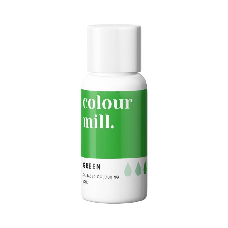 Colorant liposoluble vert Colour Mill 20 ml