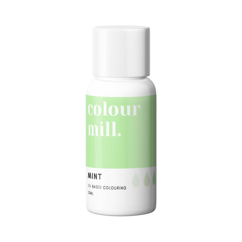 Tinte liposoluble menta Color Mill 20 ml