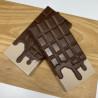 Moules chocolats 2 tablettes coulantes 14cm