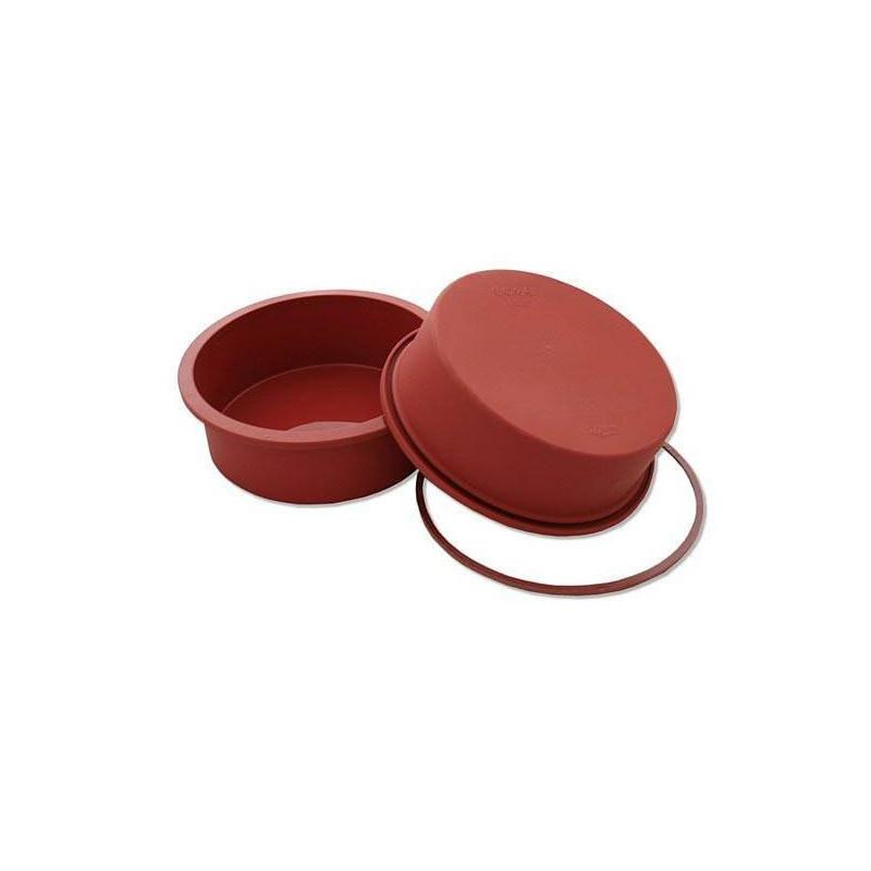 Molde de silicona redondo para tartas Silikomart 18cm
