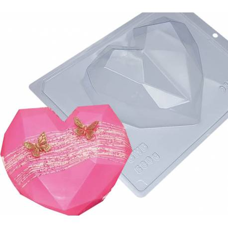 Chocolate heart mould kit 15.4cm
