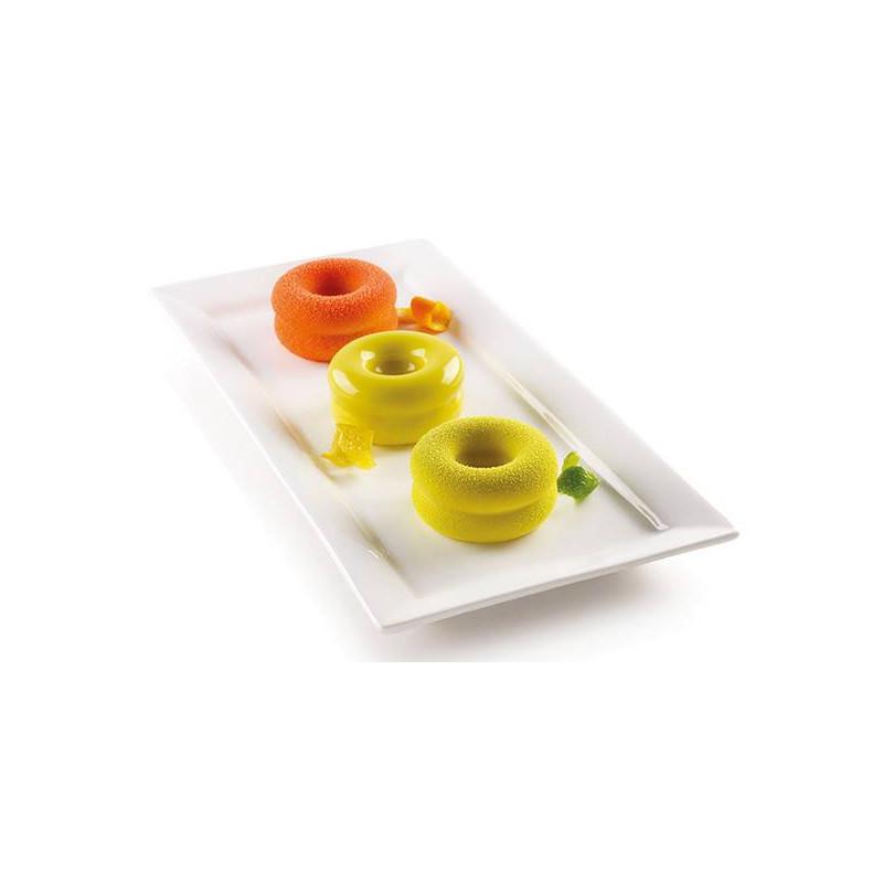Mini Arena silicone cake mould - 6 cavities