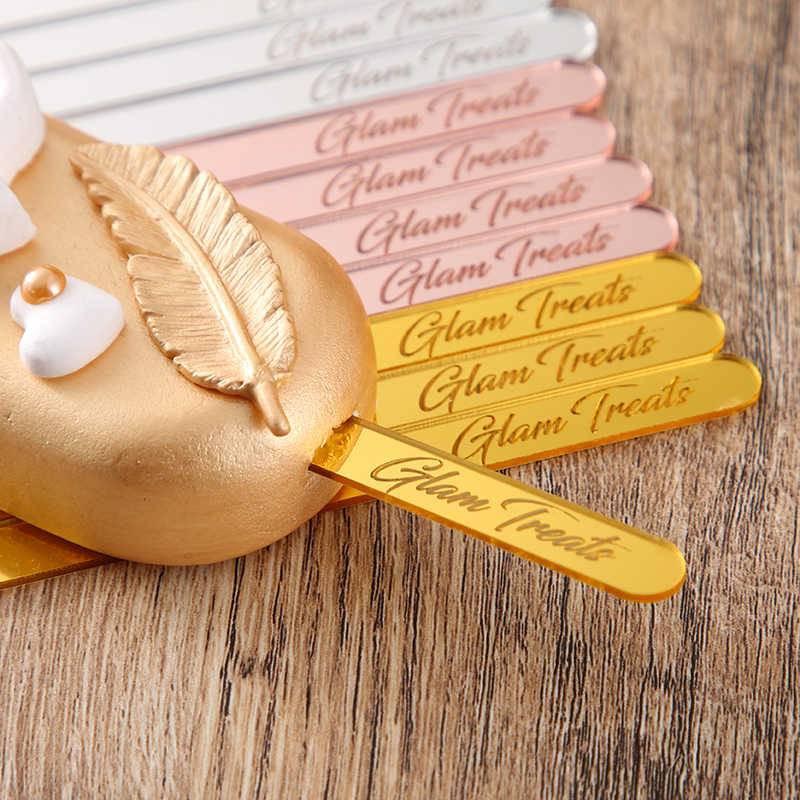 Palos personalizados para paletas o pasteles Magnum