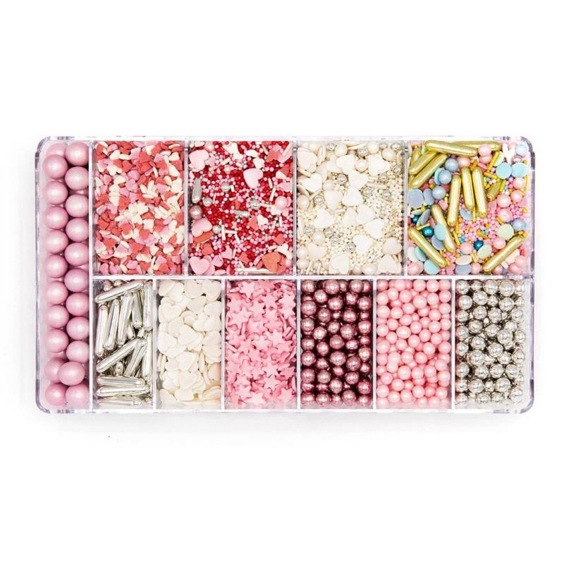 Caja de Sprinkles rosa de ensueño 350g