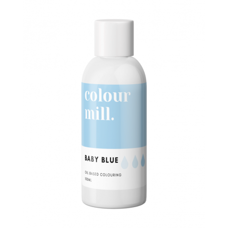Color Mill Baby Blue Tinte Liposoluble 100 ml