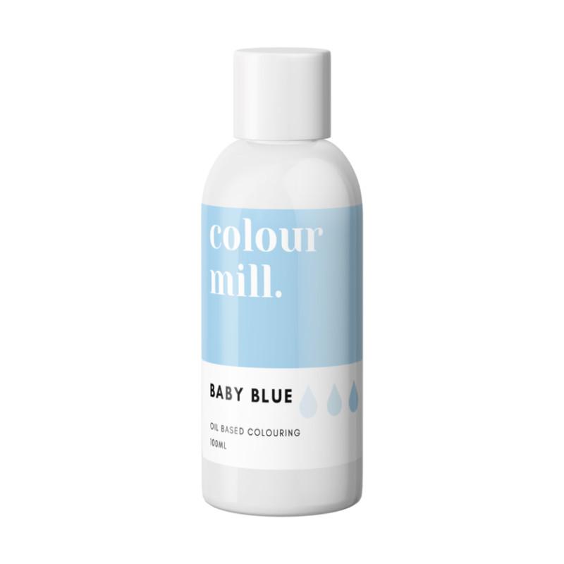 Colorant liposoluble bleu bébé Colour Mill 100 ml