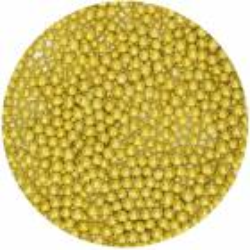 Perlas de oro 4mm
