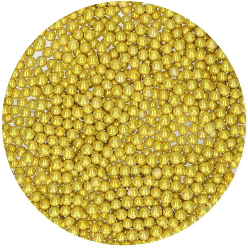 Gold SugarPearls 4mm