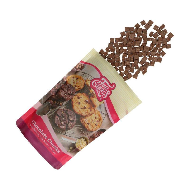 Chunk chocolat - pépites de chocolat au lait - 350g