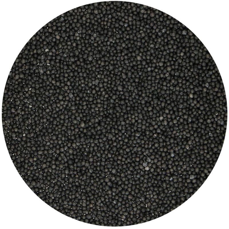 Micro billes en sucre Noire 80 g