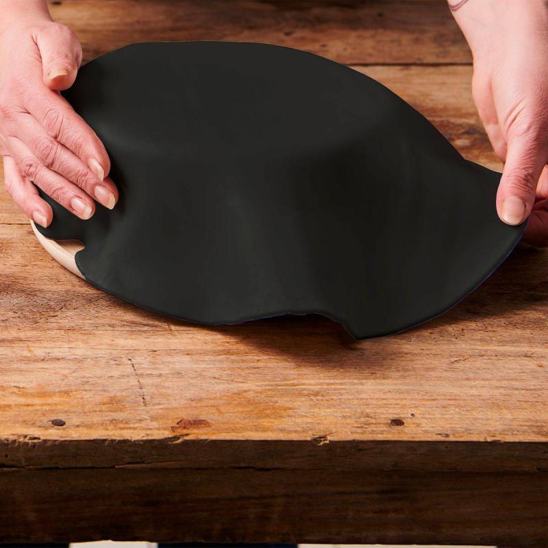 Pâte à Sucre prête à dérouler - Noir