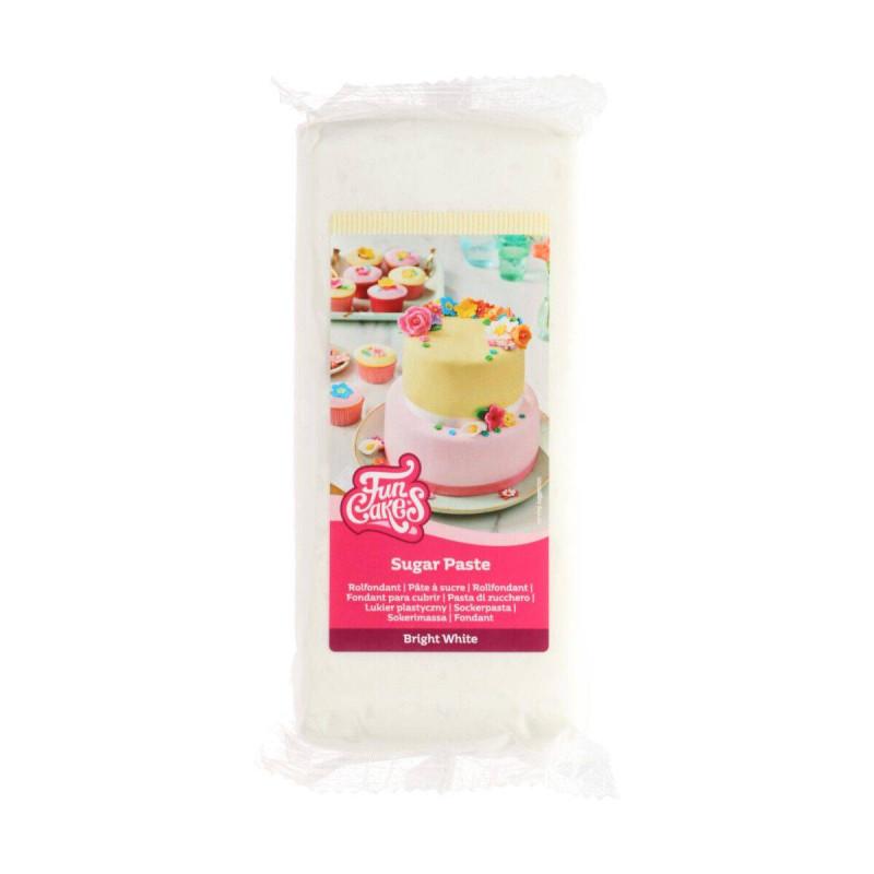 White Funcake Sugar Paste 1KG