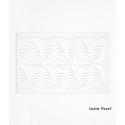 Hojas de decoración de papel de oblea blanco x2