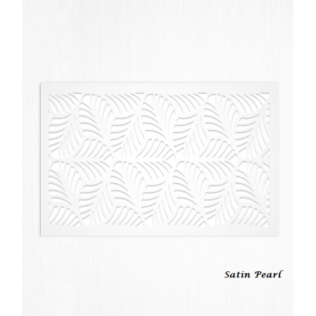 Wafer paper pattern white decoration sheets x2