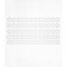 Bordure de gâteau blanche en Wafer paper style 2