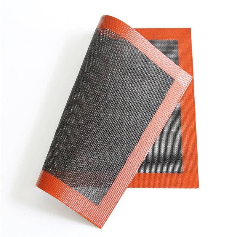 Alfombra de silicona microperforada