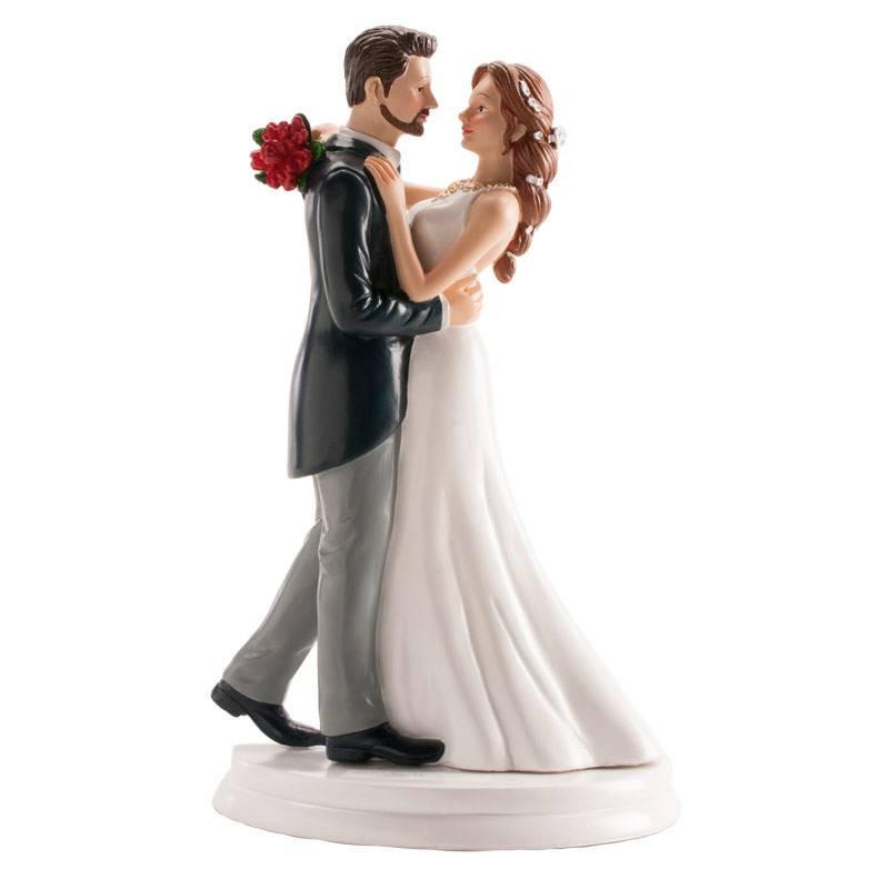 Sujet de mariage couple valse 20 cm