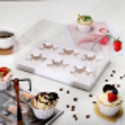 Boite à cupcakes transparente avec ruban original