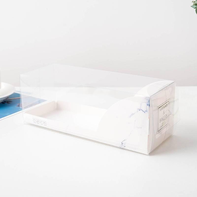 Caja transparente para Buche 27x10cm