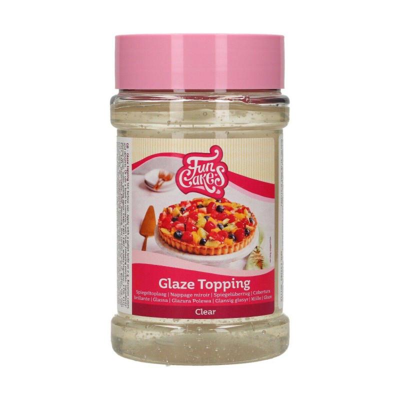 Glaseado Transparente efecto espejo Funcakes 375 g