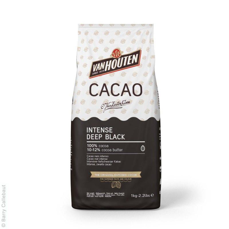 Cacao en polvo Van Houtten Deep Black 1 kg