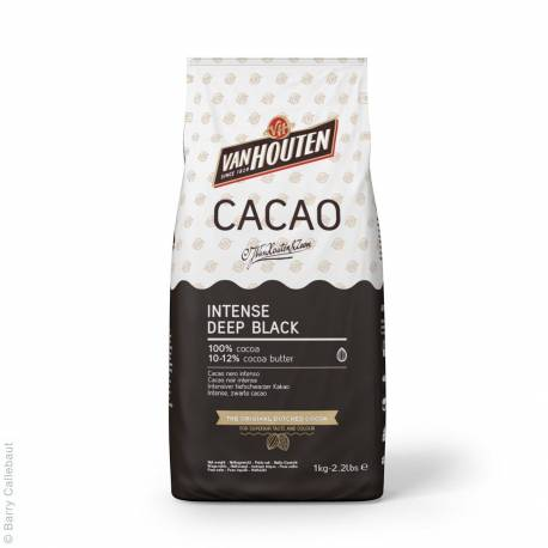 Poudre de cacao Deep Black Van Houtten 1 kg