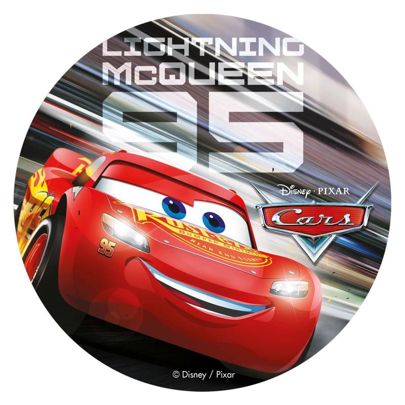 Disco sin levadura Cars 3 20 cm