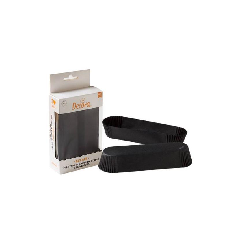 Caissettes à éclair noires -x60