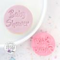 Galleta en relieve Baby shower Sello dulce