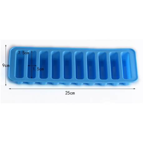 Silicone mould 10 chocolate bars