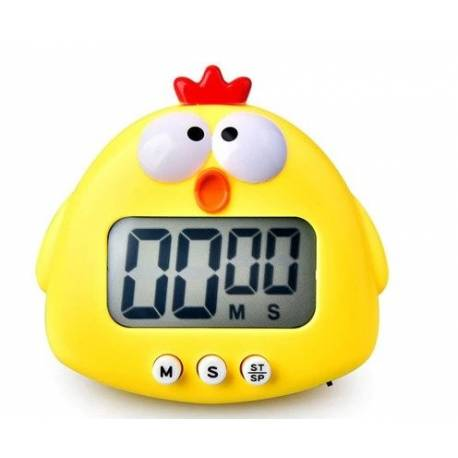 Electronic timer Yellow chicken
