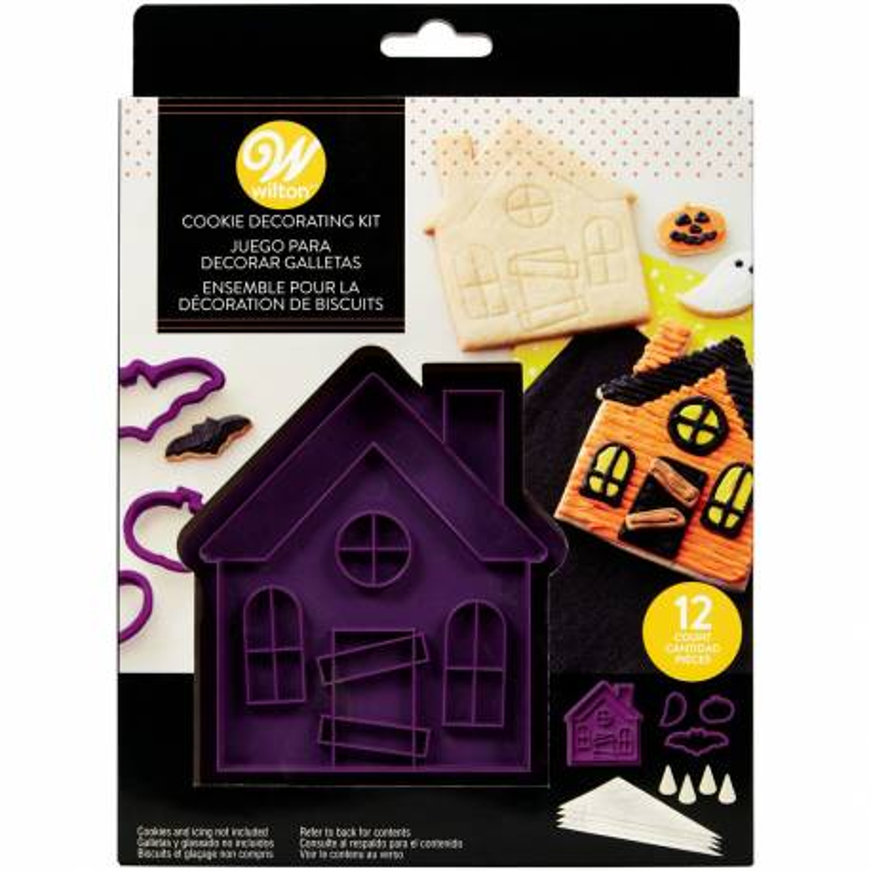 Kit biscuits maison hantée Wilton - x12 pièces