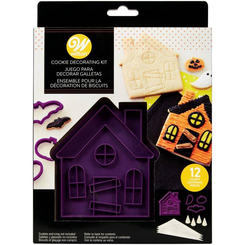 Kit de galletas de la casa encantada Wilton - x12 piezas