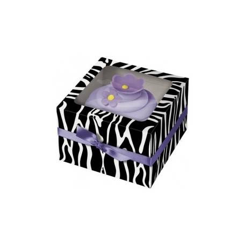 3 cajas de magdalenas de cebra Wilton